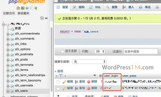 WordPress登录忘记用户名怎么找回?