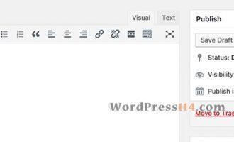 WordPress还原经典编辑器不用插件一段代码即可搞定